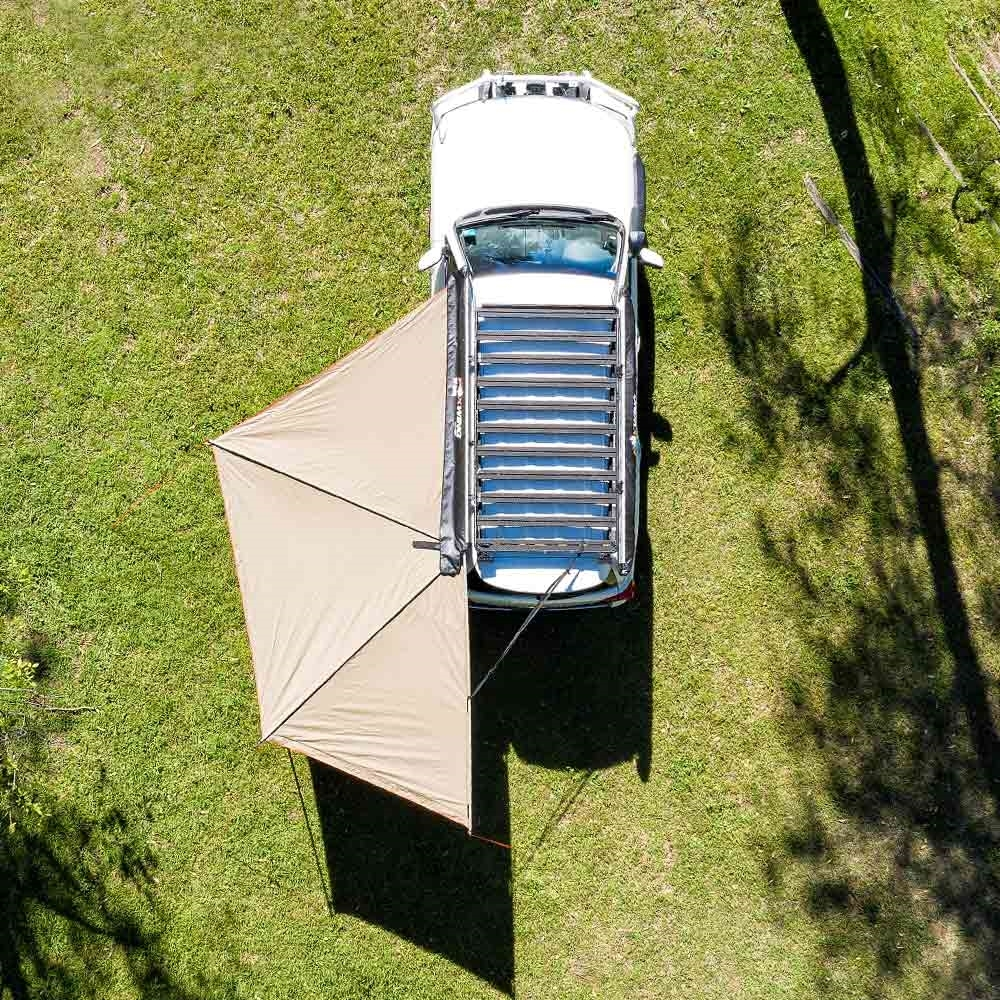 Oztent Foxwing 180° Awning Top View