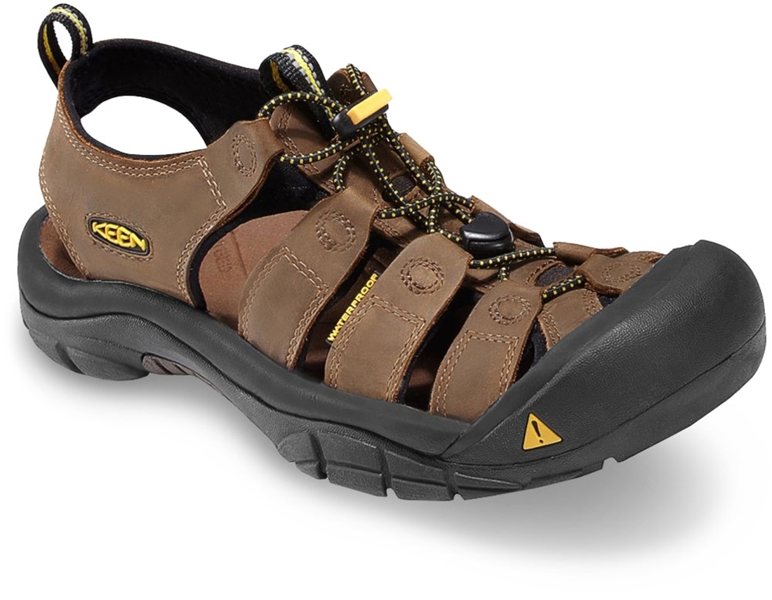 Keen Newport Leather Men's Sandal US 8 - Bison