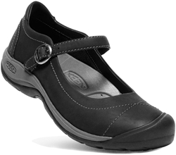 Keen Presidio II MJ Wmn's Shoe US 6 -  Black Steel Grey