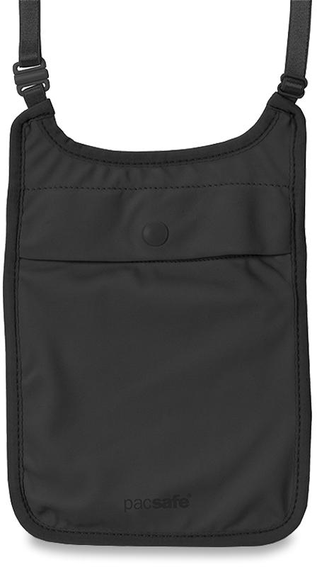 Pacsafe Coversafe S75 Secret Neck Pouch - Black