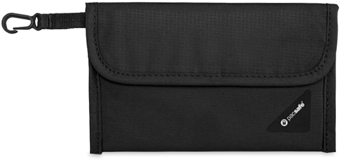 Pacsafe Coversafe V50 RFID Passport Protector - Black