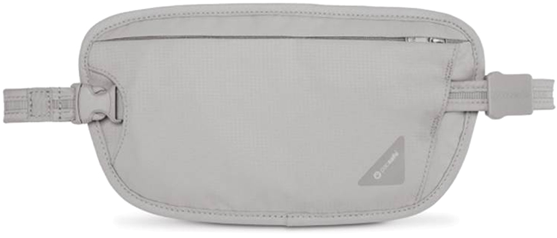 Pacsafe Coversafe X100 RFID Blocking Waist Wallet - Grey