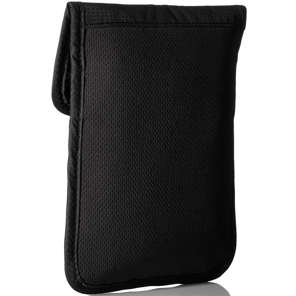 Pacsafe Coversafe X75 RFID Blocking Neck Pouch - Back of pouch