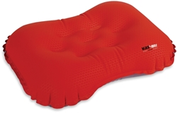 Black Wolf Air-Lite Pillow True Red