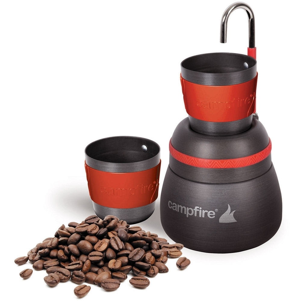 Campfire Compact Espresso Maker - with coffee beans