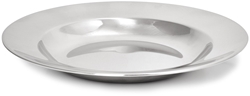 Zebra Stainless Steel Soup Plate - 23cm