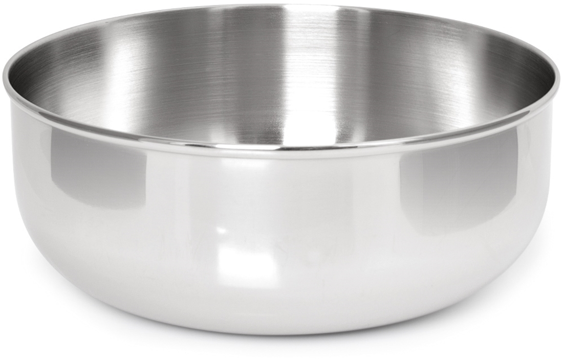 Zebra Stainless Steel Soup Bowl - 18cm