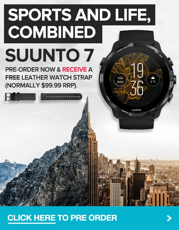Latest tech from Suunto, the Suunto 7 Smartwatch