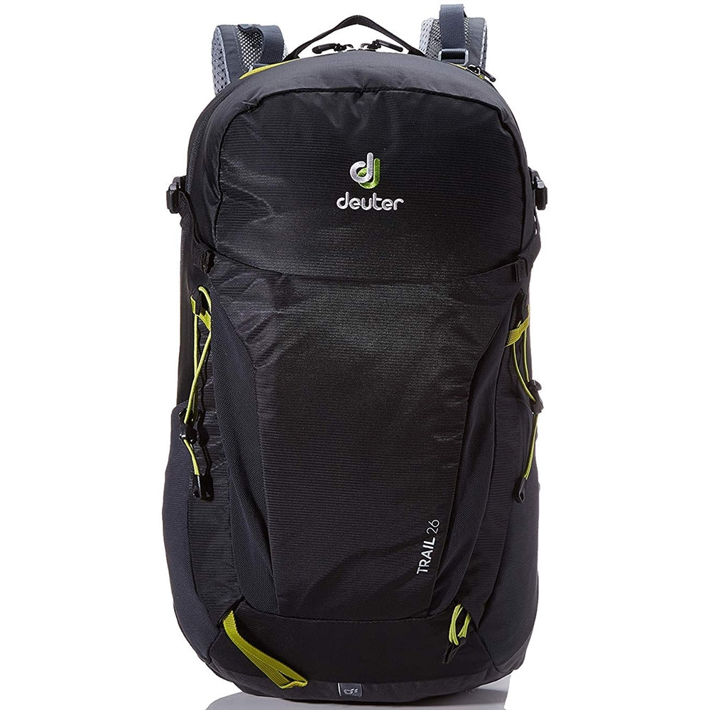 Deuter Trail 26 Backpack Black Graphite - Front view