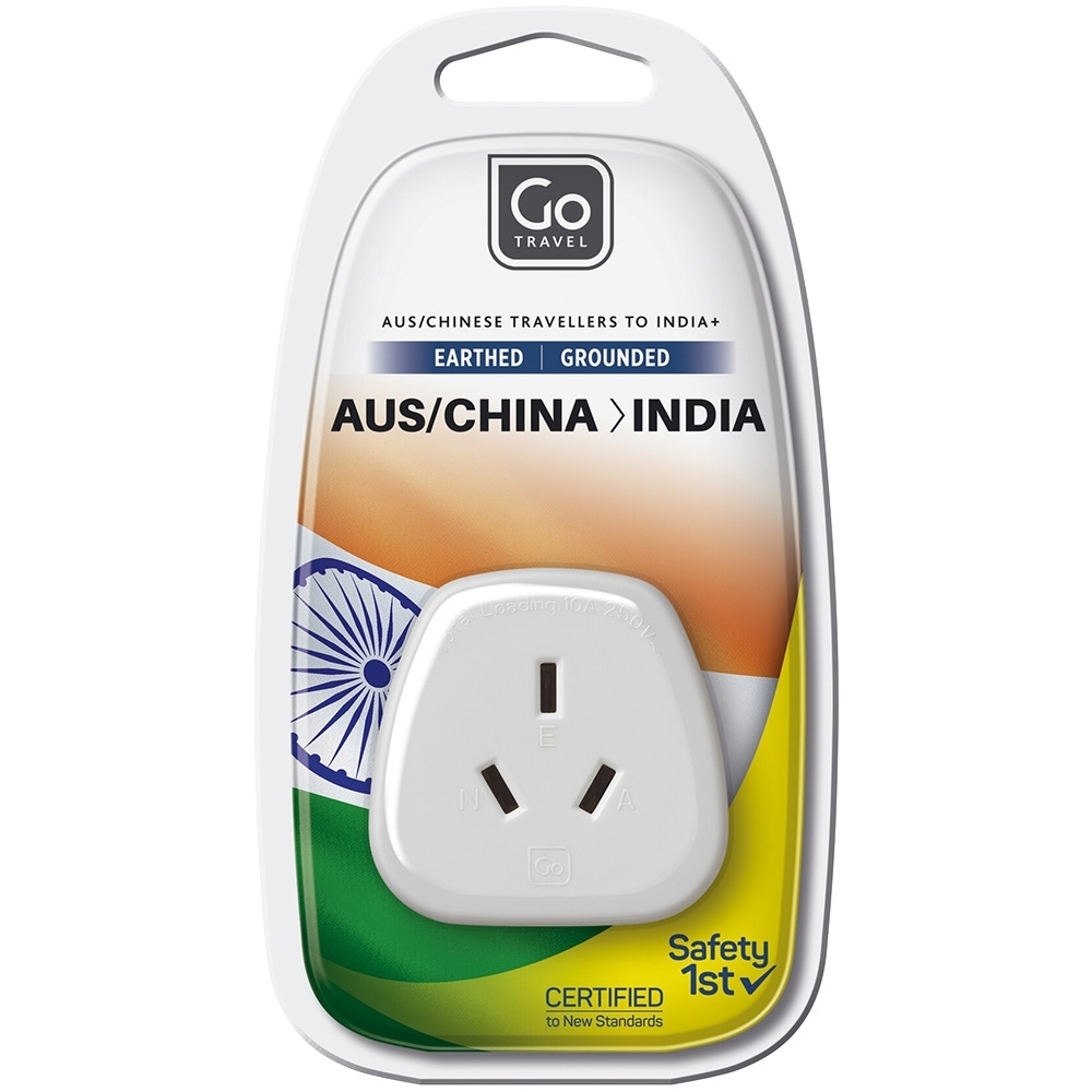 Go Travel Indian Adapter - Packaging