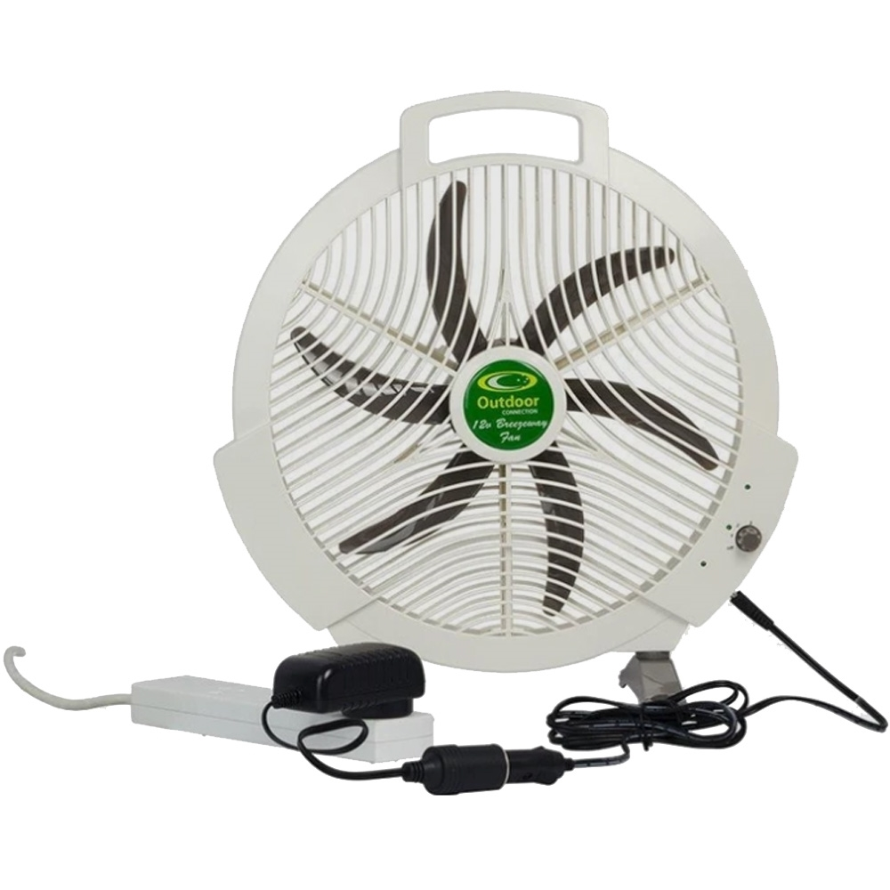 Outdoor Connection Power Strip 36W Transformer - Powering fan