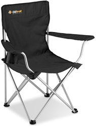 OZtrail Classic Arm Chair - Black