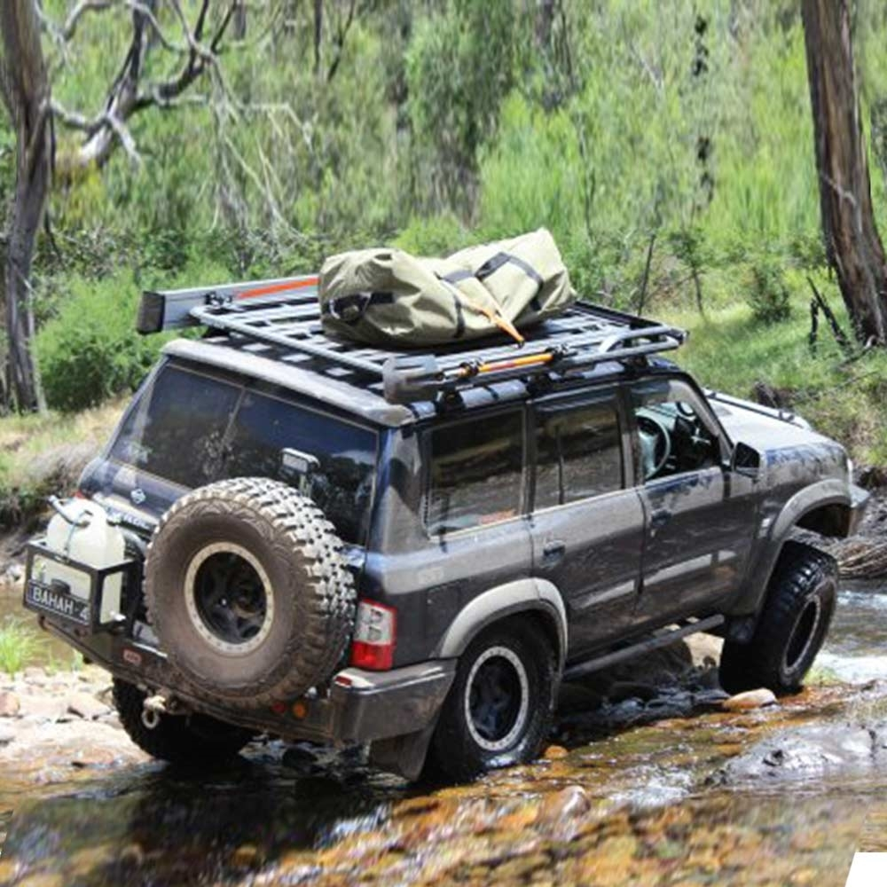 Darche Outbound 1400 Swag Bag - On top of 4wd rooof