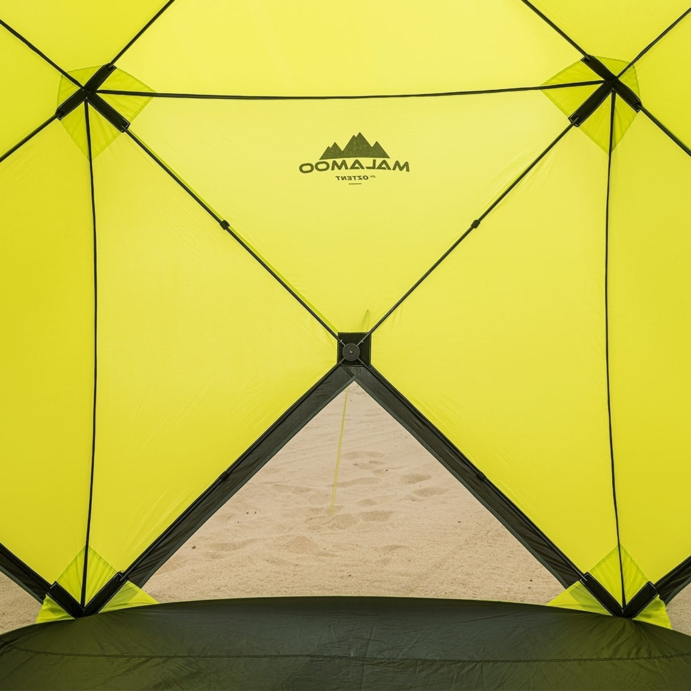 Oztent Malamoo 4-Hub Beach Shelter Rear Wall