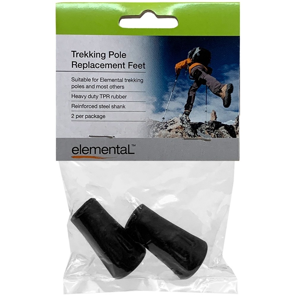 Elemental Trekking Pole Replacement Feet - Packaging