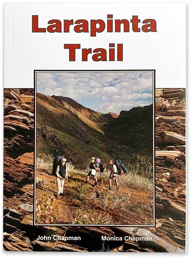 John Chapman Larapinta Trail Guide Book - Front cover