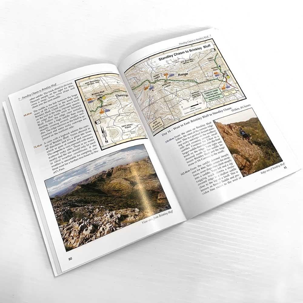 John Chapman Larapinta Trail Guide Book - Pages 80-81
