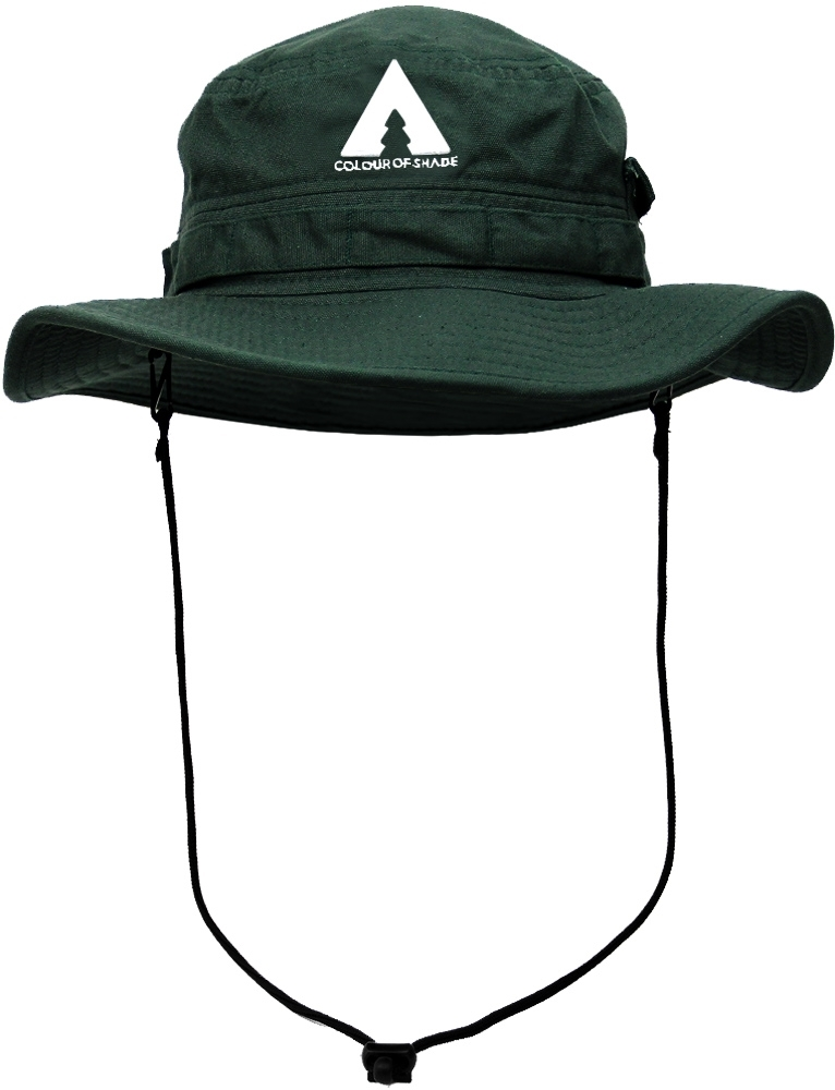 Colour Of Shade Boulders Fishing Hat Olive