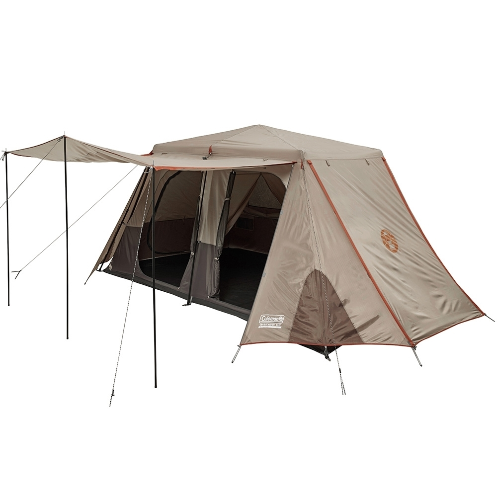 Coleman Instant Up Silver 8P Side Entry Tent - Side Awning
