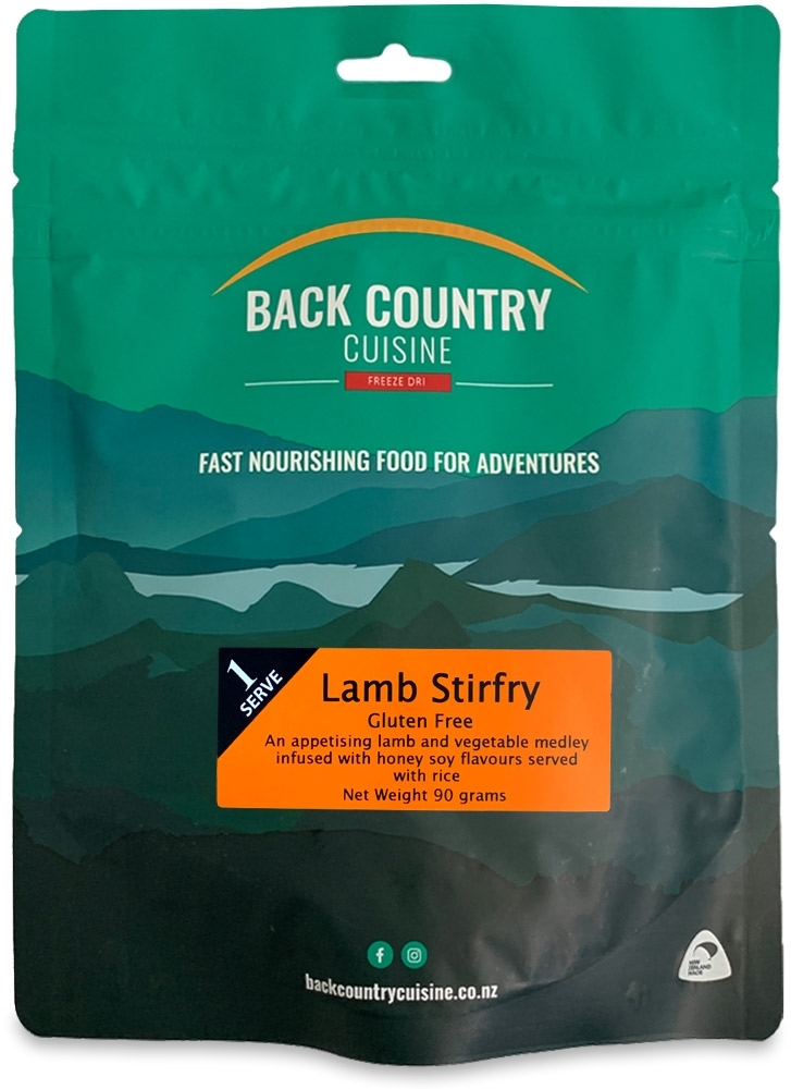 Back Country Cuisine Lamb Stirfry