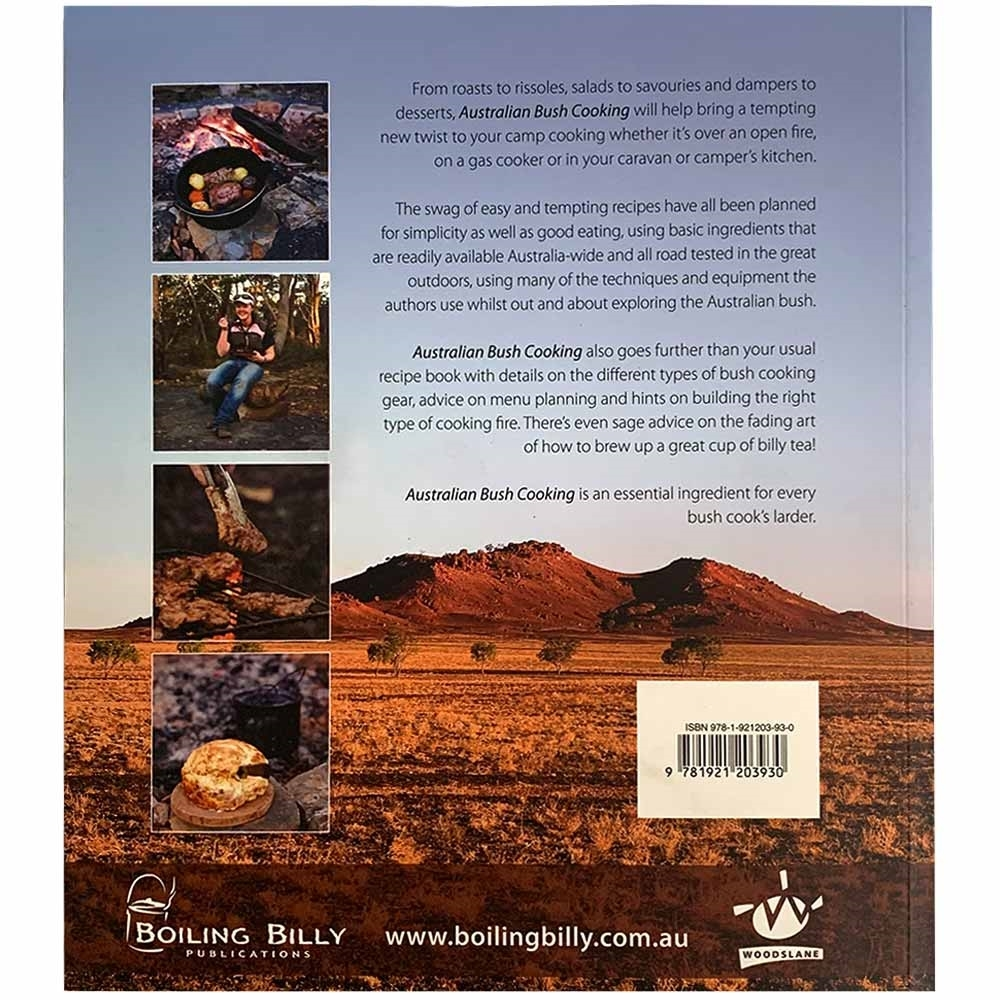 Boiling Billy Australian Bush Cooking - Back cover
