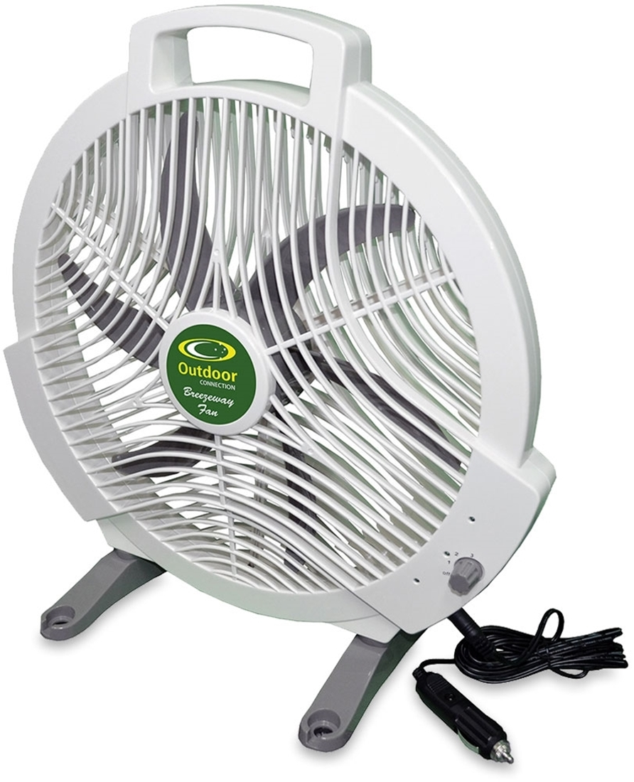 Outdoor Connection Breezeway 12V Camping Fan