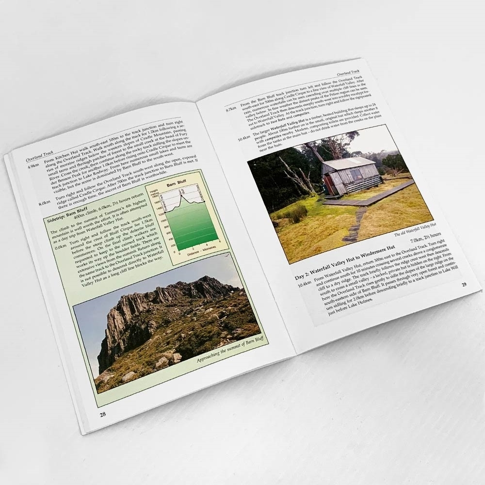 John Chapman Overland Track Guide Book - Pages 28-29
