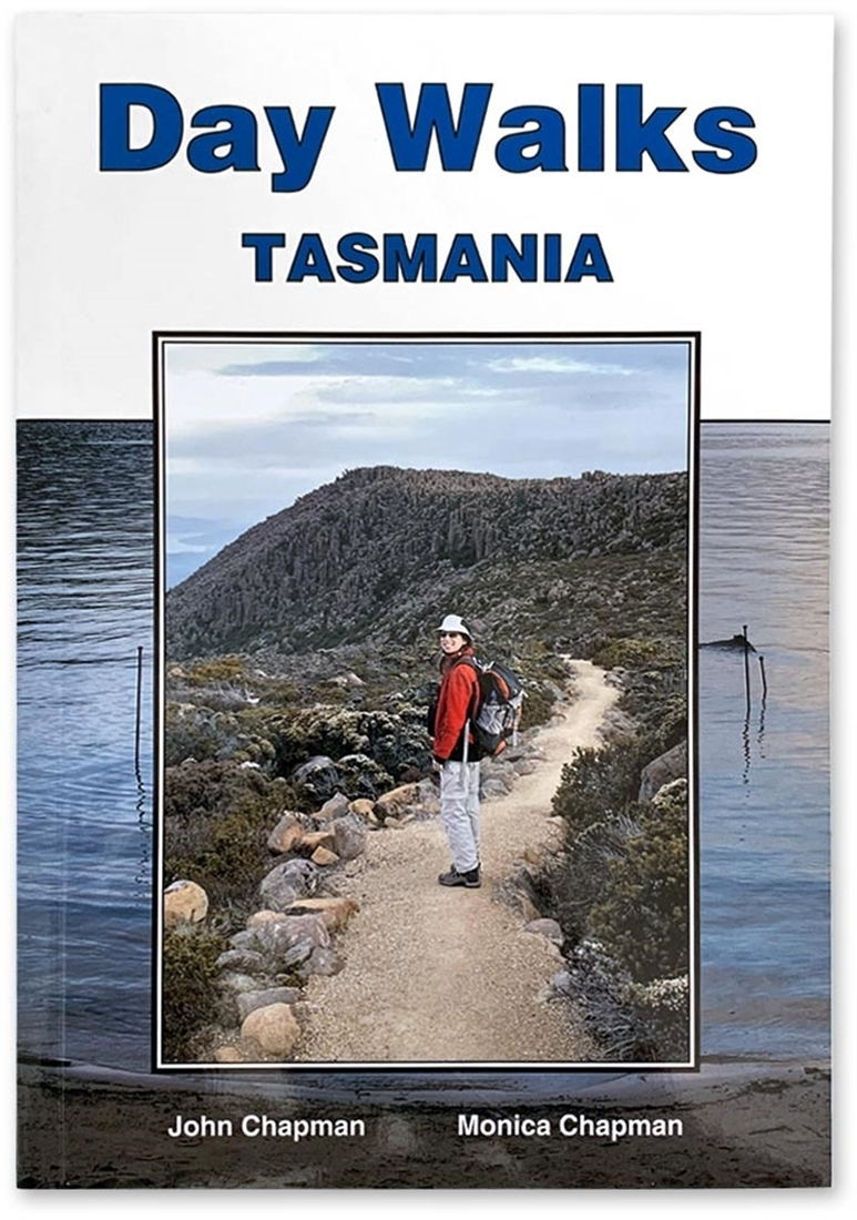 John Chapman Day Walks Tasmania Book - Front cover