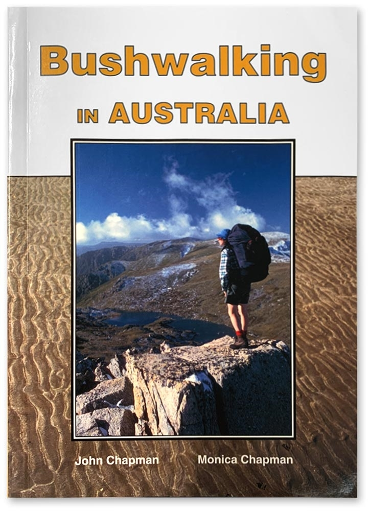 John Chapman Bushwalking in Australia Book - Front cover