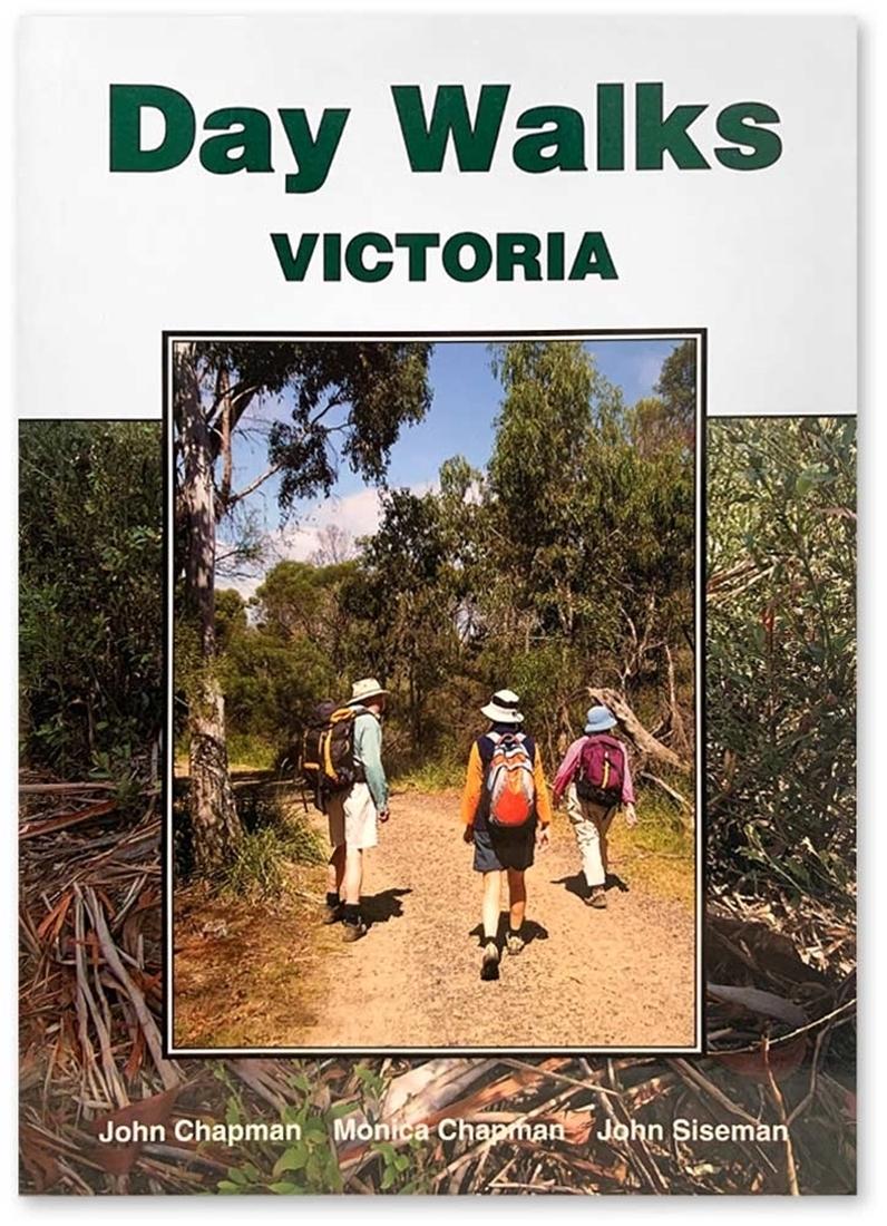 John Chapman Day Walks Victoria Book - Front Cover