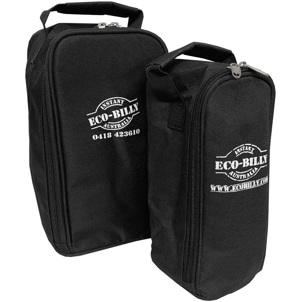 Eco Billy Instant Camp Kettle Bag Small and Large - Side by side