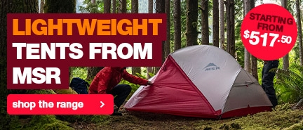 Lightweight MSR Hiking Tents at the lowest prices in Australia