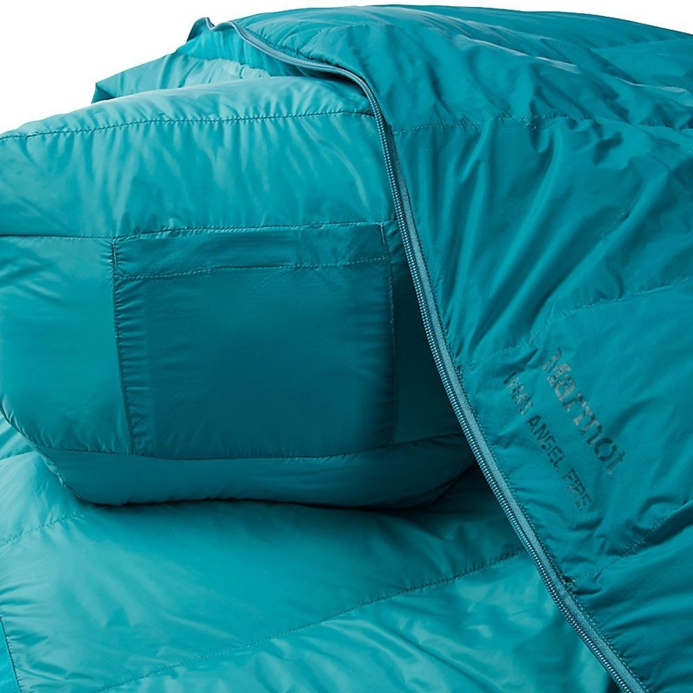 Marmot Angel Fire Women's Sleeping Bag (-4 °C) - Close up of bag
