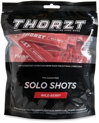 Thorzt Solo Shots 50 Pk Wild Berry - Front of packaging