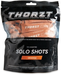 Thorzt Solo Shots 50 Pk Orange - Front of packaging