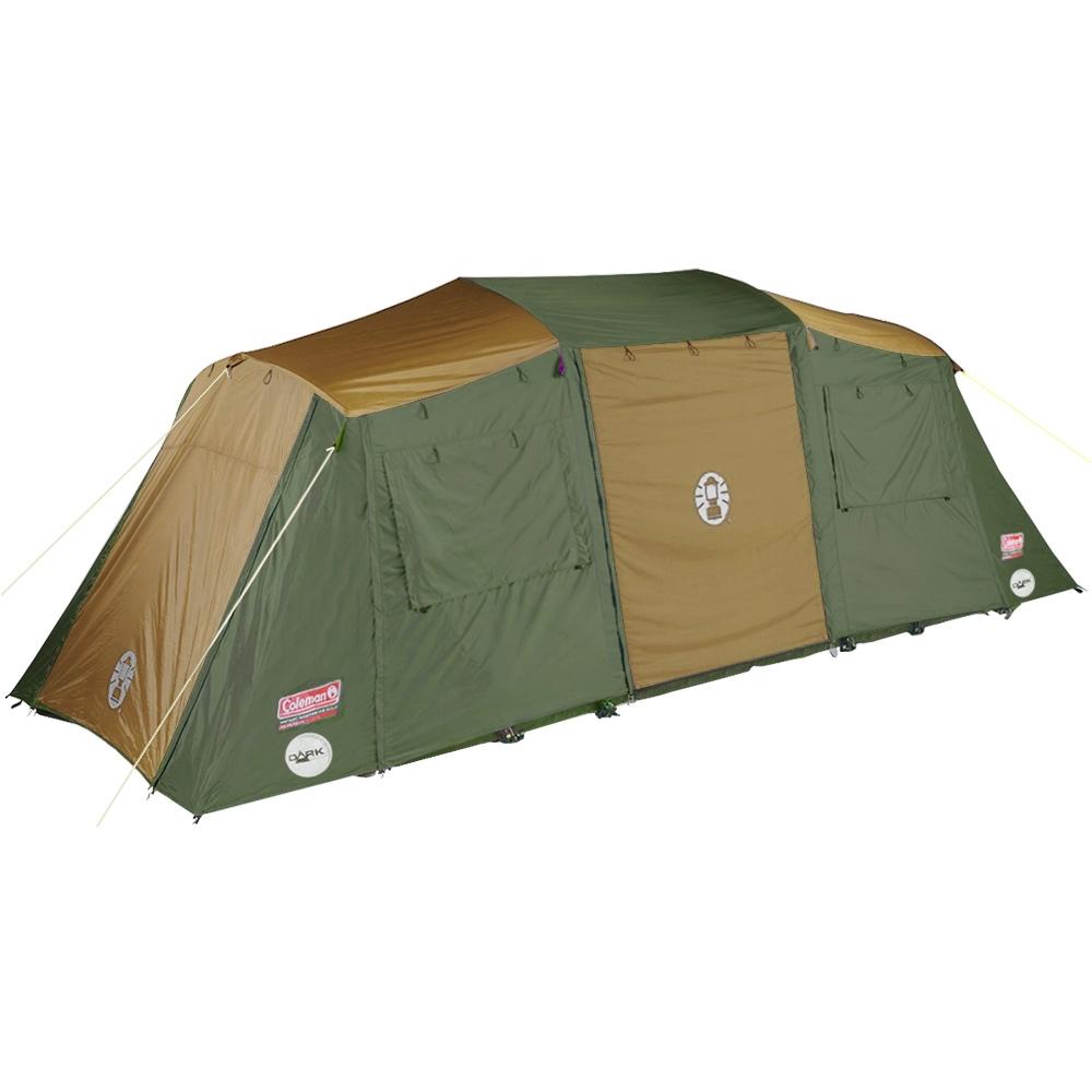 Coleman Instant Up 10P Lighted Northstar Darkroom Tent - Front door closed