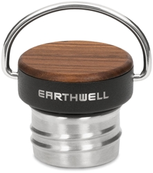 Earthwell Woodie Cap Walnut Volcanic Black