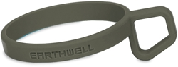 Earthwell Silicone LoopD Ring Foliage Green