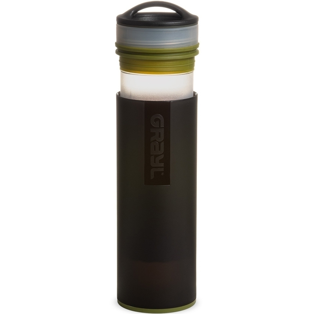 Grayl Ultralight Compact Water Purifier & Filter Bottle