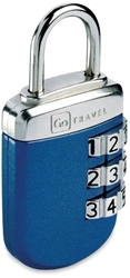 Go Travel Big Wheel Lock Blue