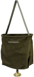 Companion Canvas Shower Bucket