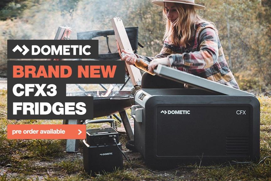 Brand new Dometic CFX3 Fridge Freezer range!