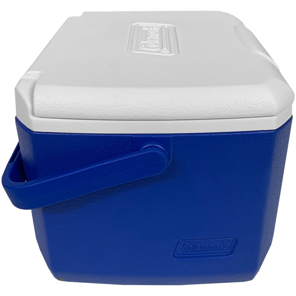 Coleman Take 6 Personal Cooler - Side view with handle lowered