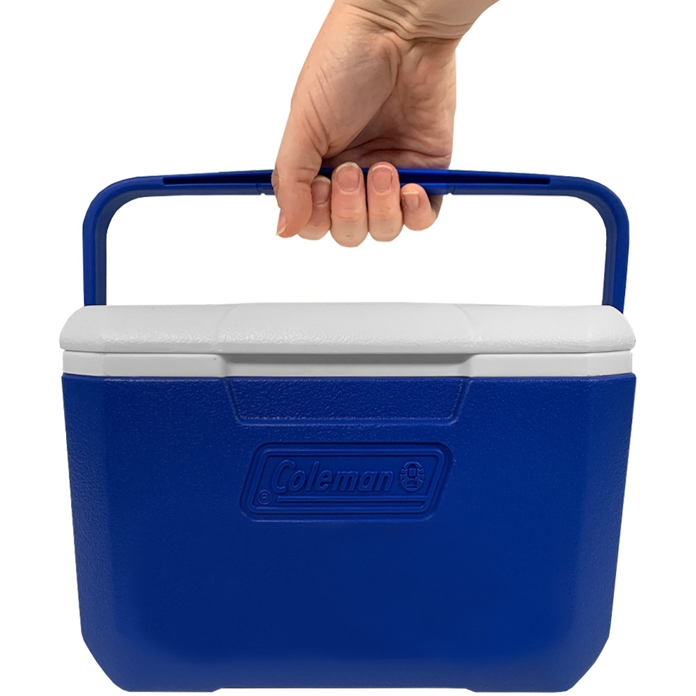 Coleman Take 6 Personal Cooler - Person holding handle of cooler