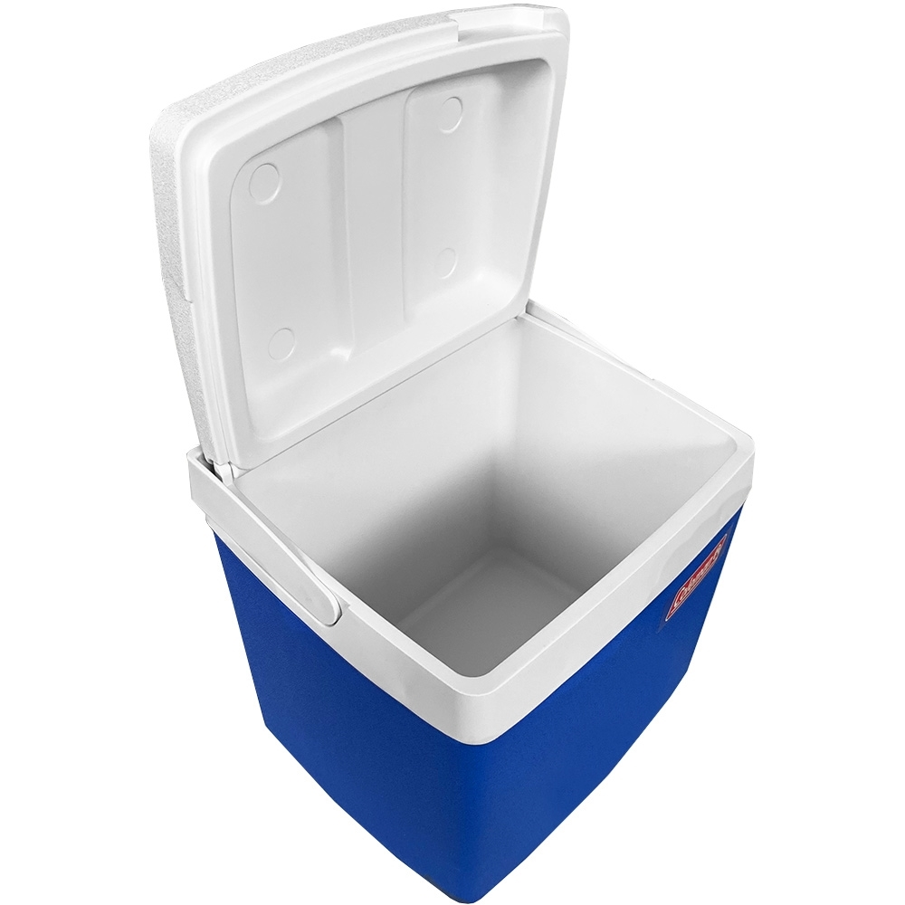 Coleman 27L Classic Chest Cooler - Inside compartment with lid open