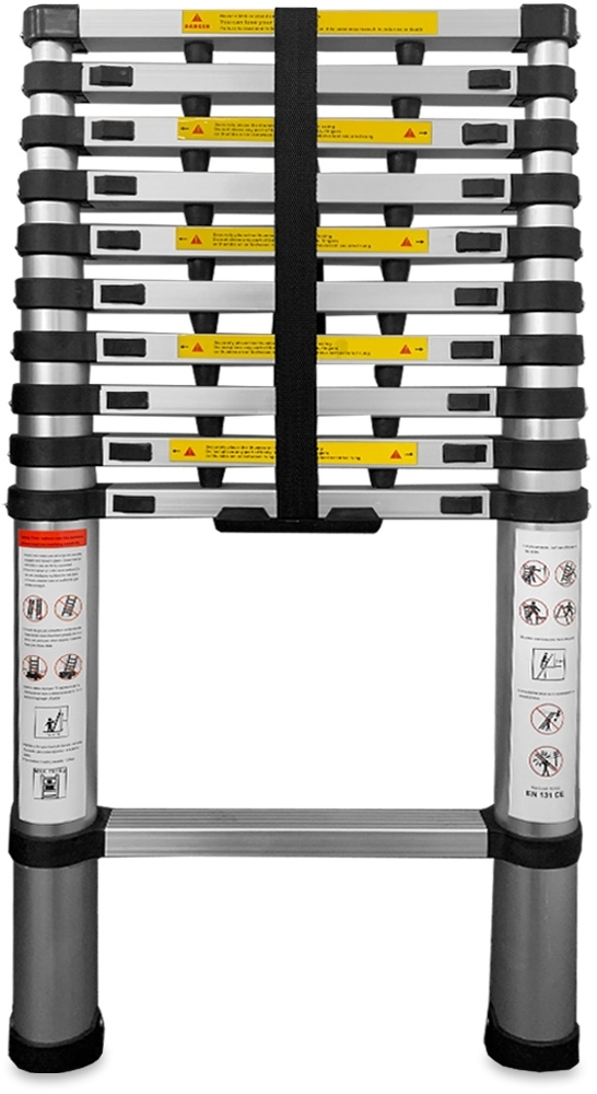 Australian RV 3.2m Telescopic Ladder - Packed down