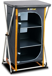 OZtrail 3 Shelf Deluxe Cupboard