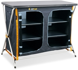 OZtrail 3 Shelf Deluxe Double Cupboard