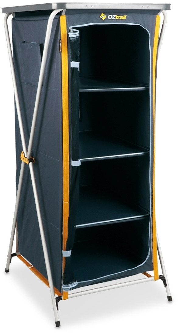 OZtrail 4 Shelf Deluxe Cupboard