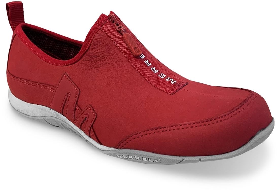 Merrell Barrado Saybrook Zip Leather Women's Shoe Chili